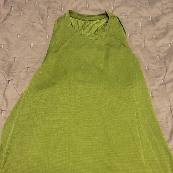 lululemon athletica Tops - Green Lululemon tank with open back